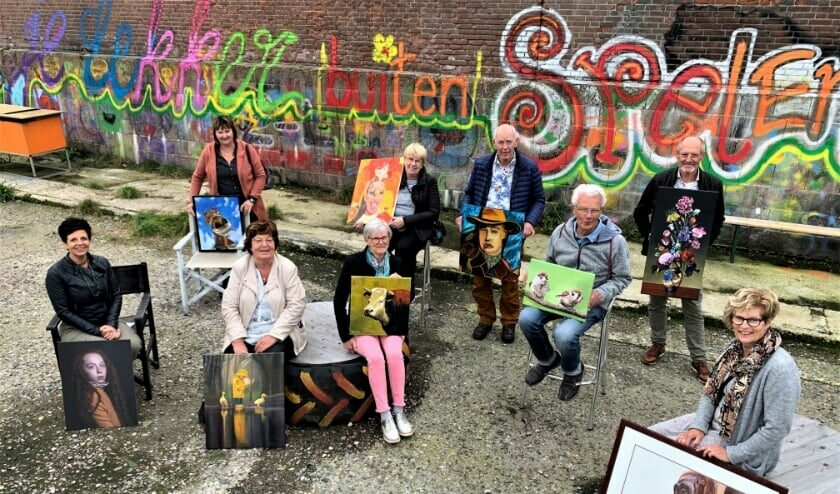 2020: Open Atelierroute Stompwijk